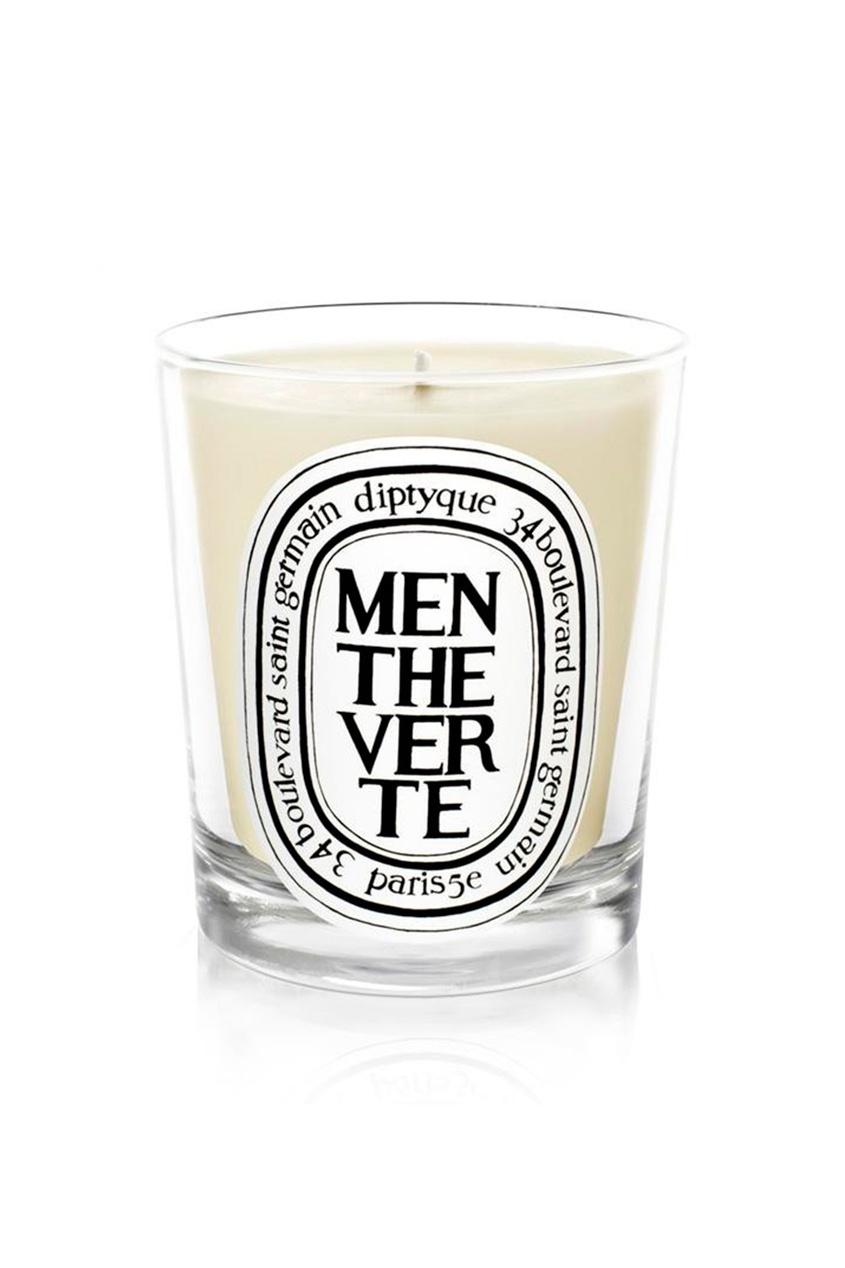 Свеча из парфюмированного воска Menthe verte