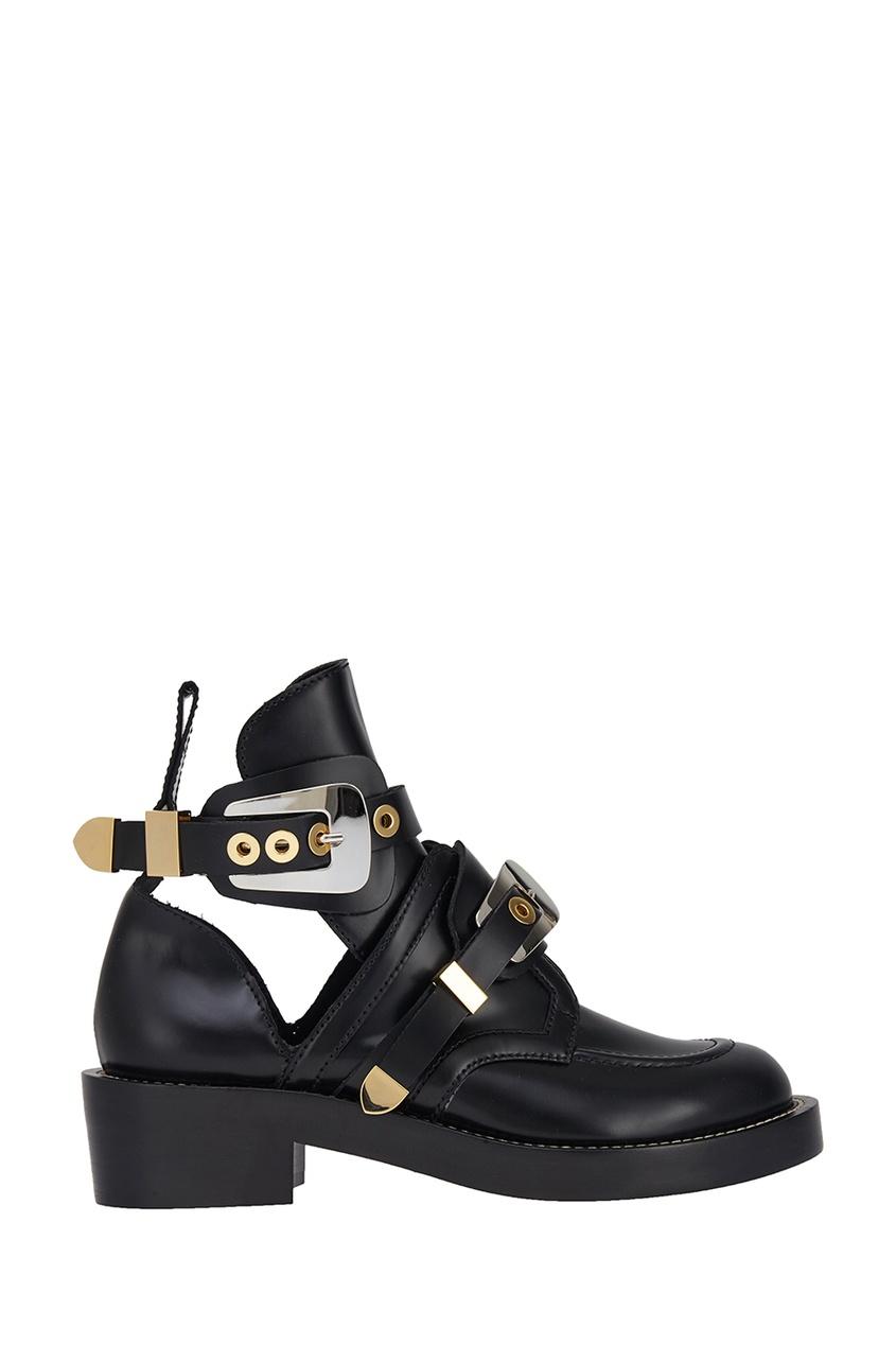 Balenciaga Кожаные ботинки ботинки кожаные с кисточками