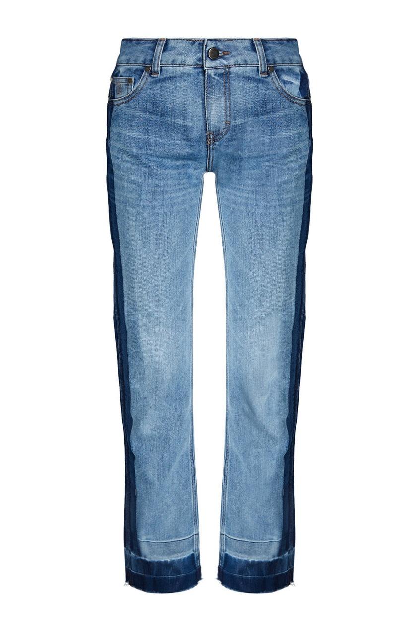 Комбинированные джинсы Oilslick