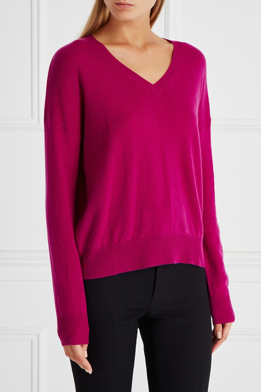 Пуловер из шерсти и кашемира Ohasna