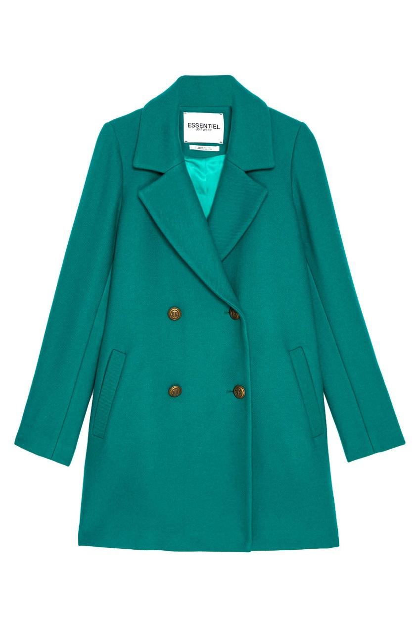 Essentiel Шерстяное пальто Obivan jean paul gaultier vintage двубортное пальто