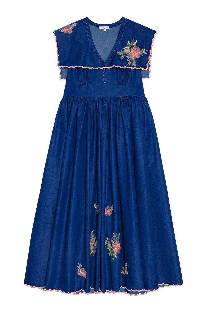 Natasha Zinko Хлопковое платье natasha ruleva блуза natasha ruleva ss14 nr 0602