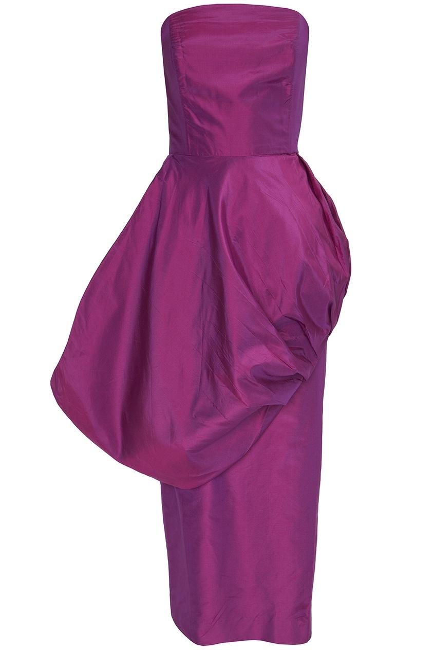 Шелковое платье (80-е гг.)