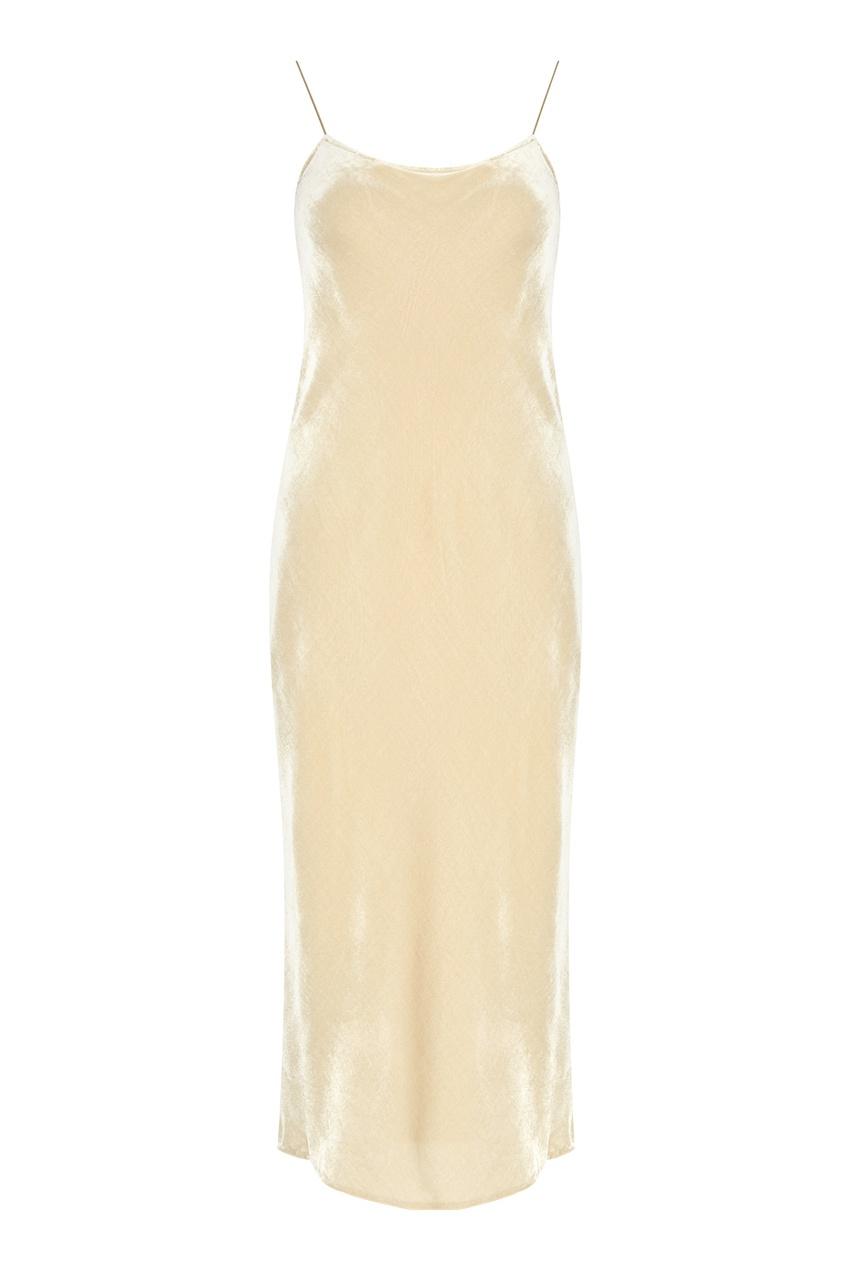 Vince Бархатное платье