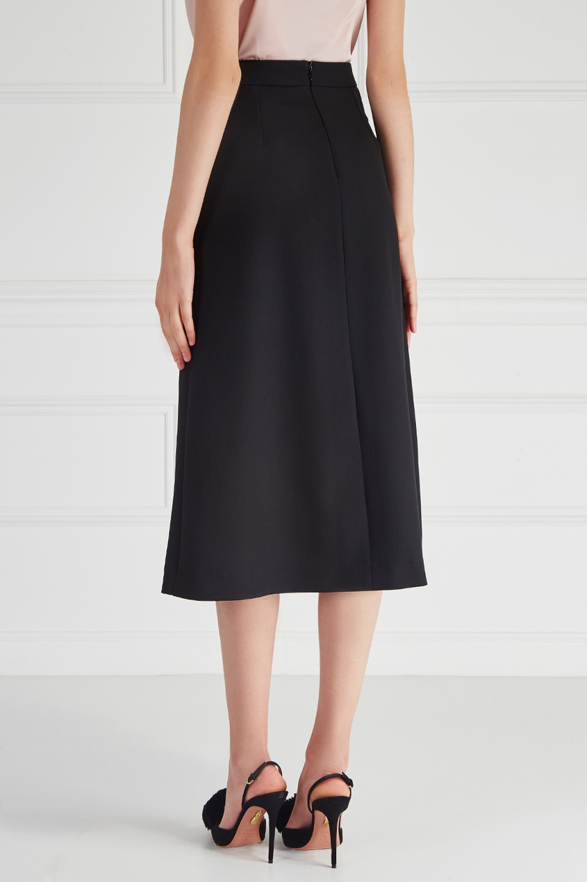Однотонная юбка Arisha