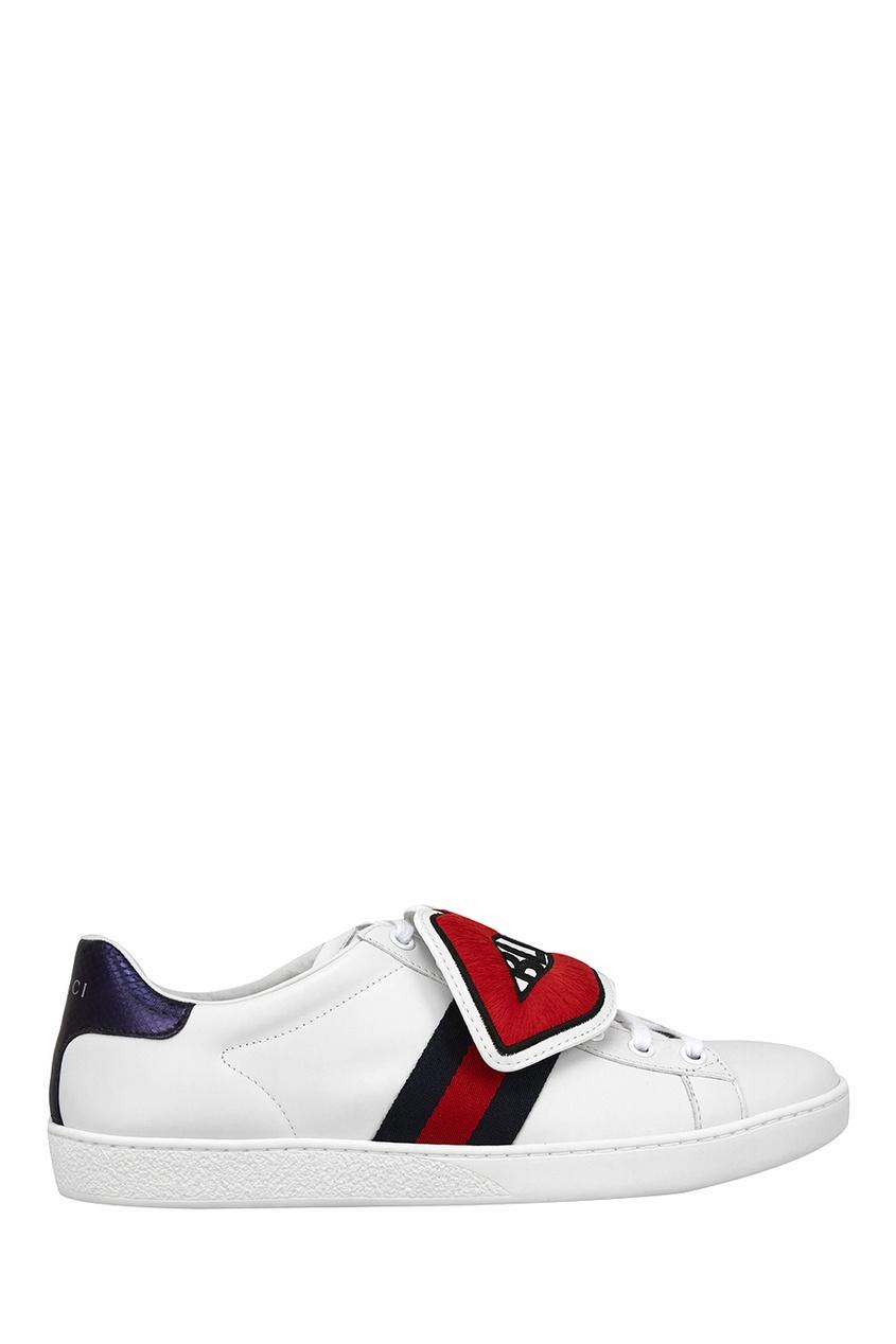 Gucci Кожаные кеды Ace gucci кожаные сапоги