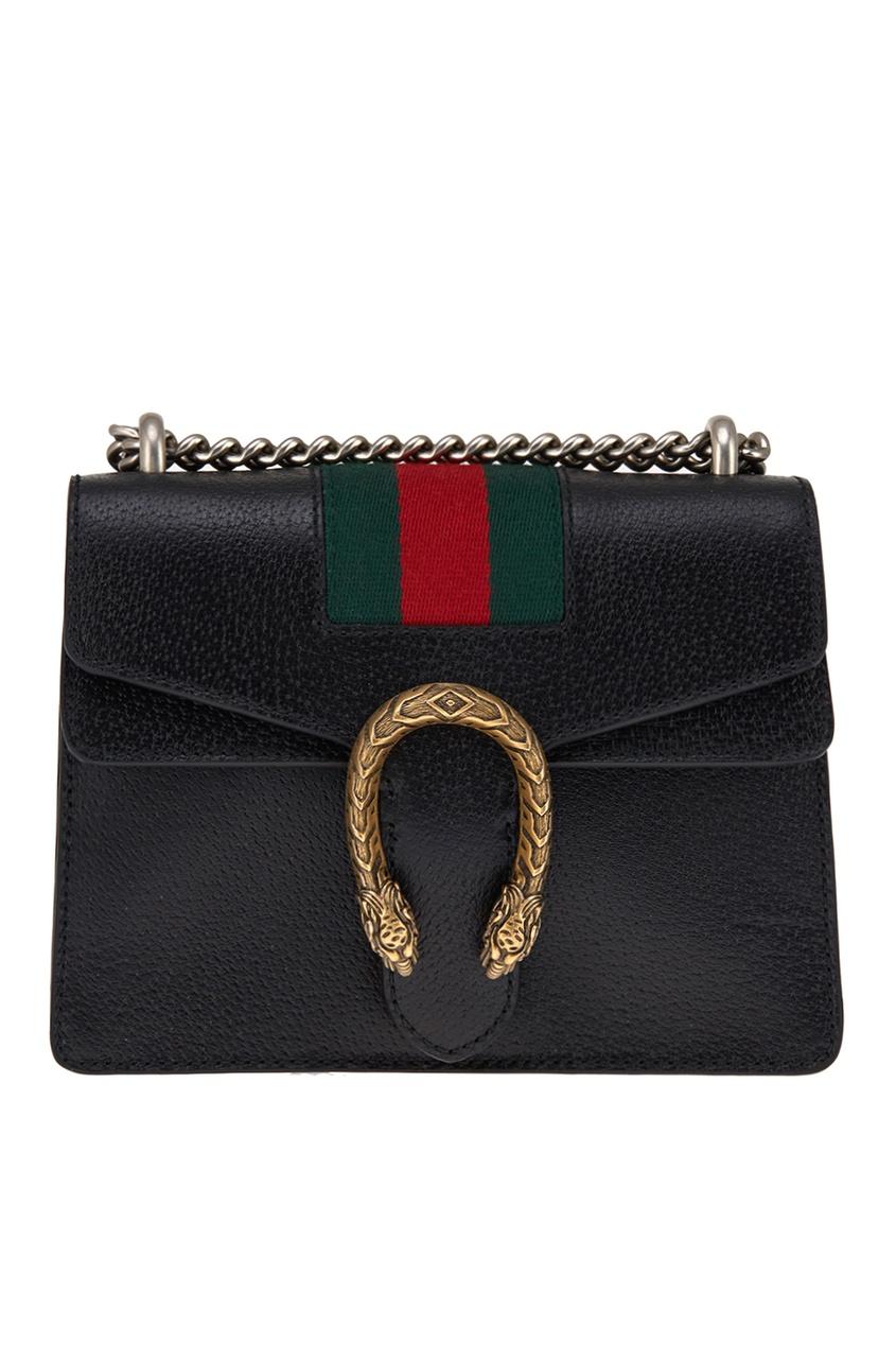 Gucci Кожаная сумка Dionysus gucci сумка
