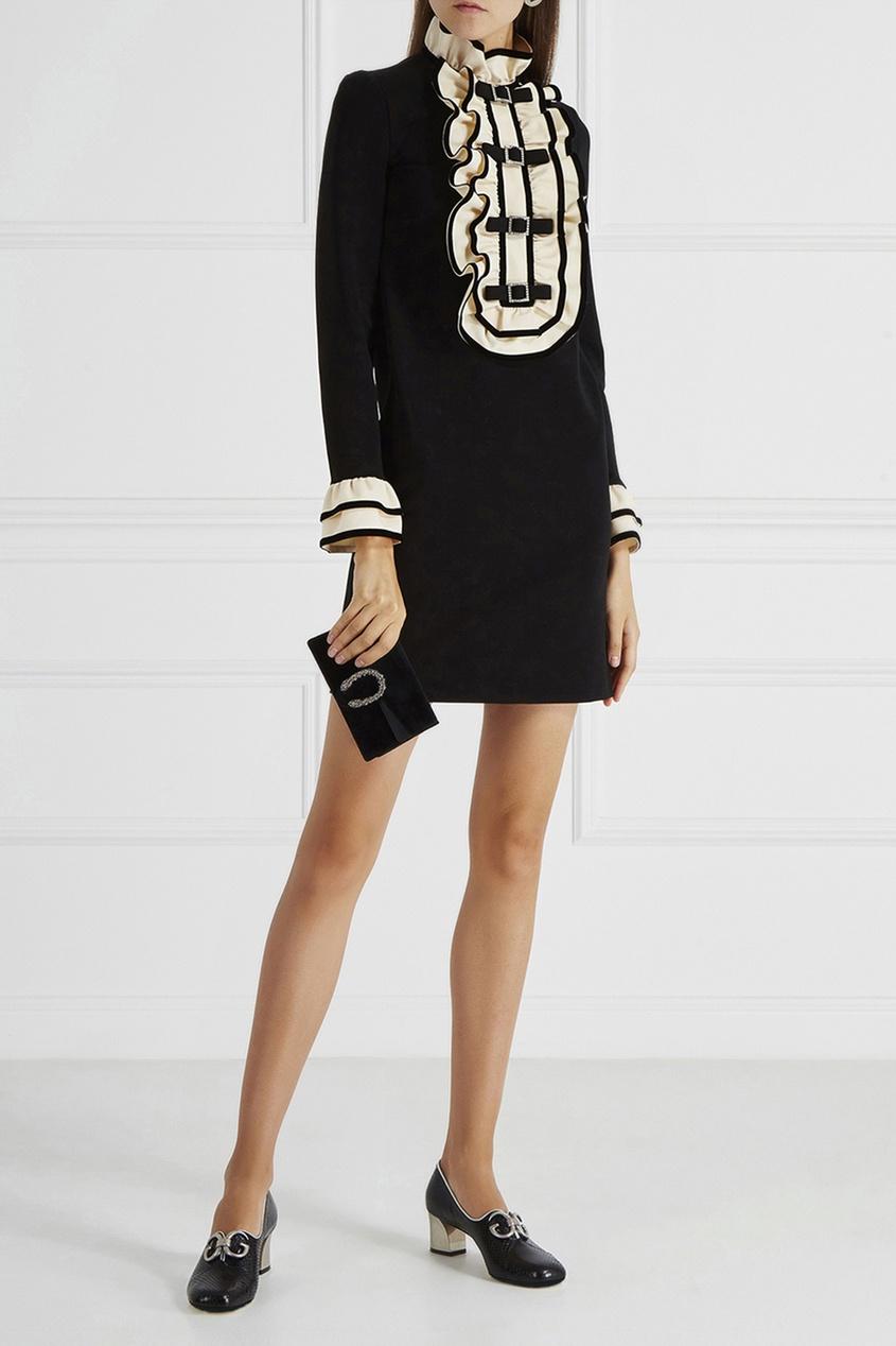 цены на Gucci Кожаные туфли в интернет-магазинах