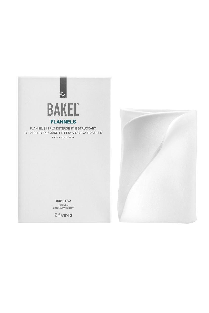 Bakel Cалфетки для снятия макияжа Flannels bakel сыворотка vitea для лица и контура глаз масляная питательная 30 мл