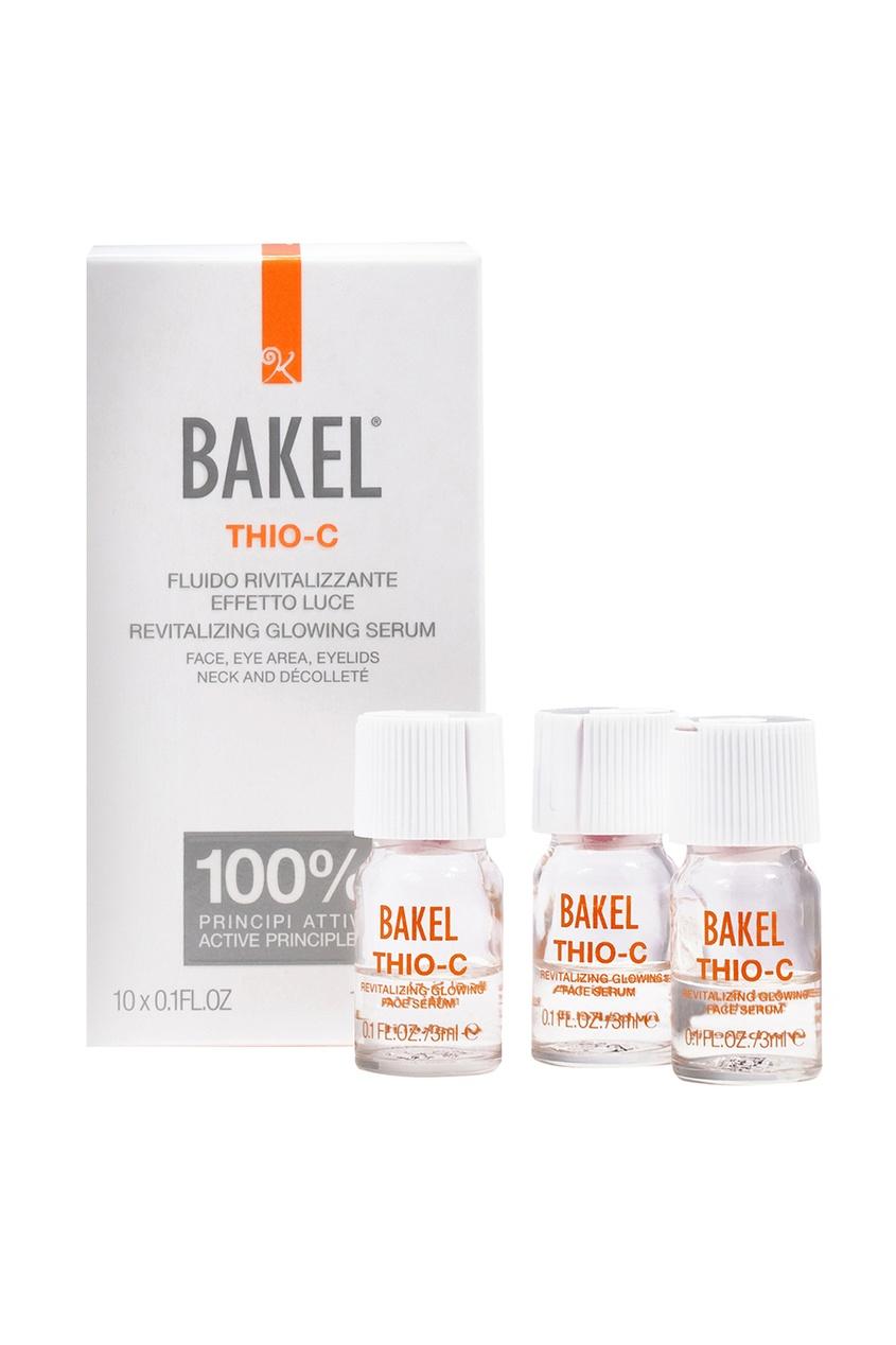 Bakel Оживляющая сыворотка для лица, придающая сияние коже THIO-C, 10х3 ml bakel сыворотка vitea для лица и контура глаз масляная питательная 30 мл