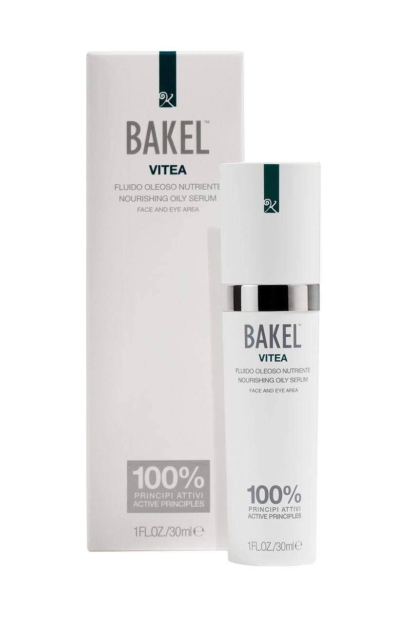 Bakel Сыворотка масляная питательная для лица и контура глаз VITEA, 30 ml bakel сыворотка vitea для лица и контура глаз масляная питательная 30 мл