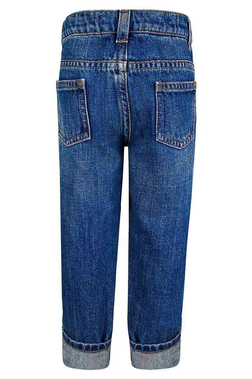 где купить Gucci Children Потертые джинсы по лучшей цене