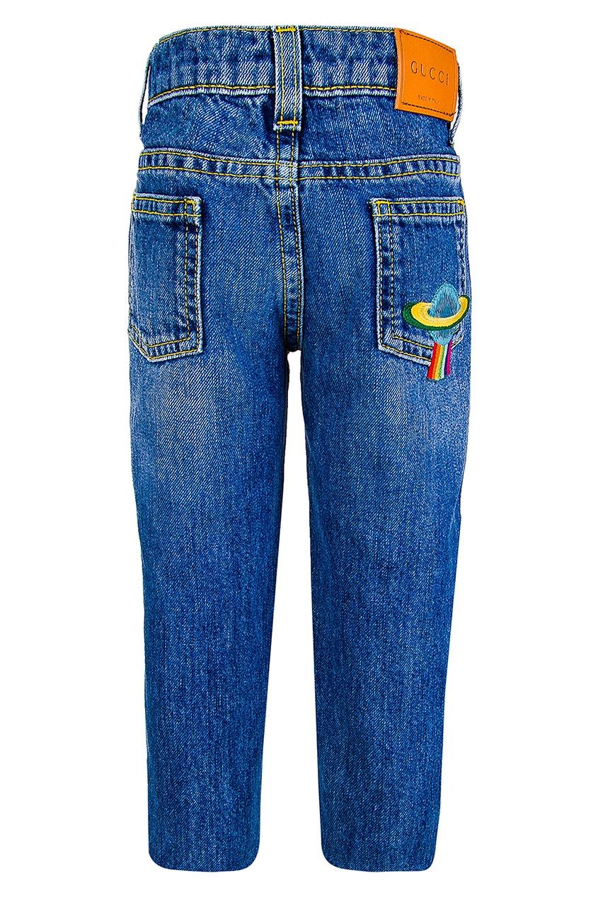 купить Gucci Children Однотонные джинсы по цене 21200 рублей
