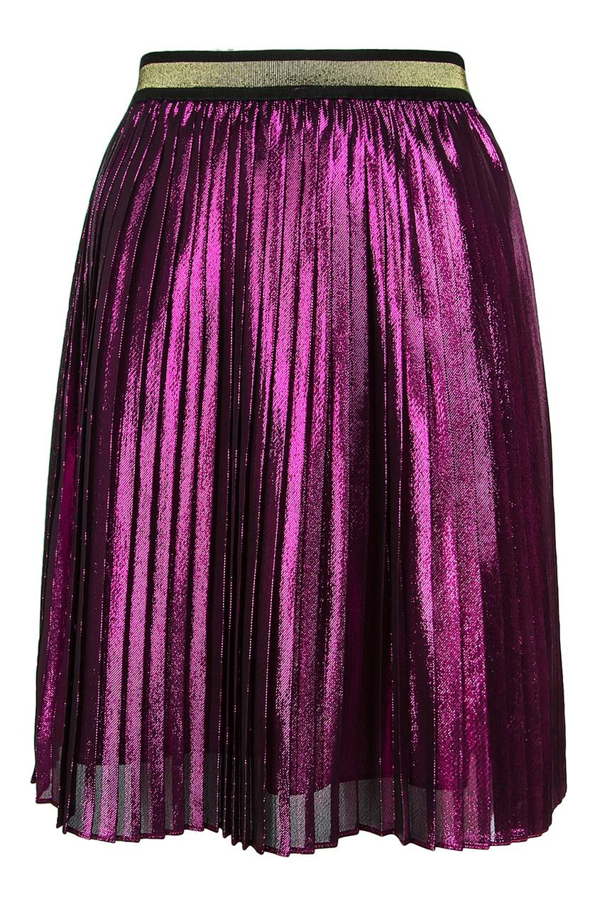 купить Gucci Children Плиссированная юбка по цене 29640 рублей