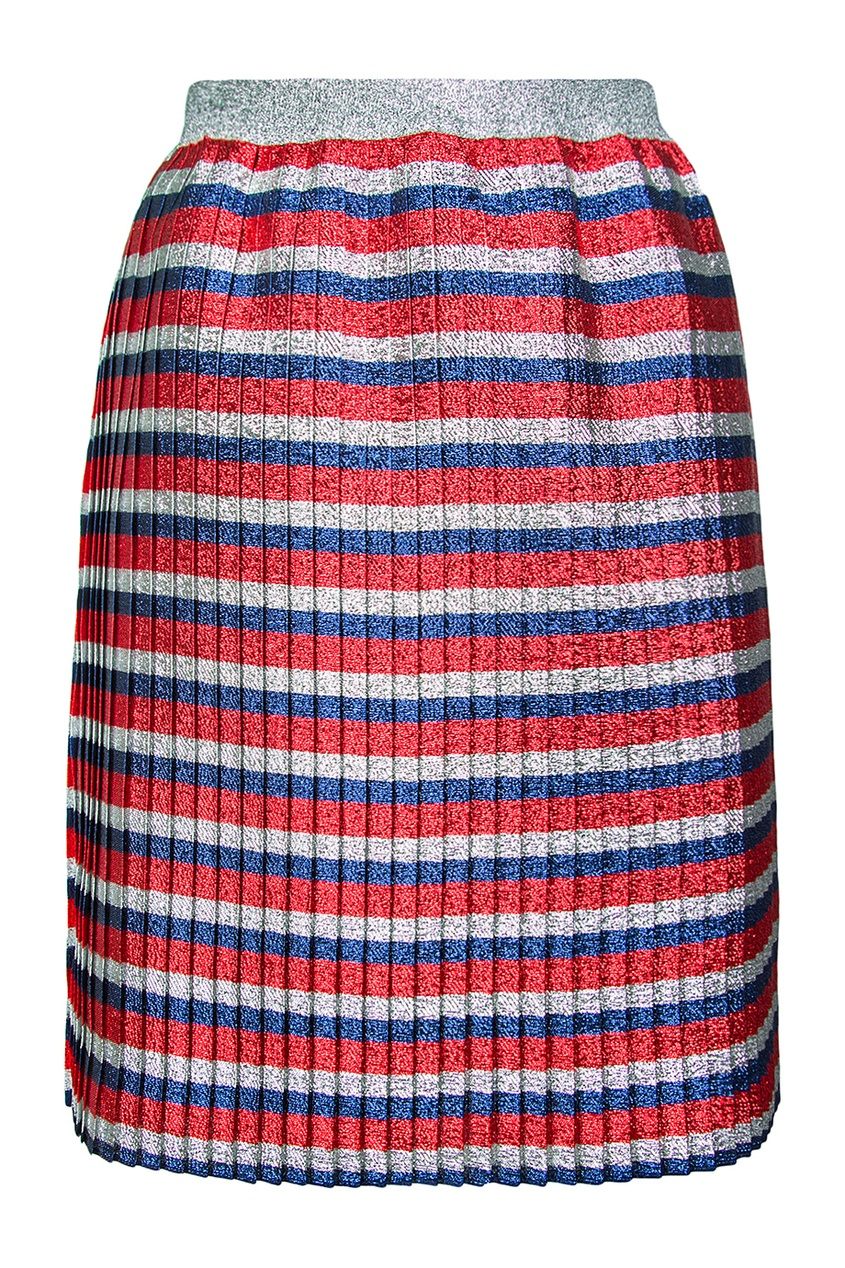 купить Gucci Children Плиссированная юбка по цене 33020 рублей