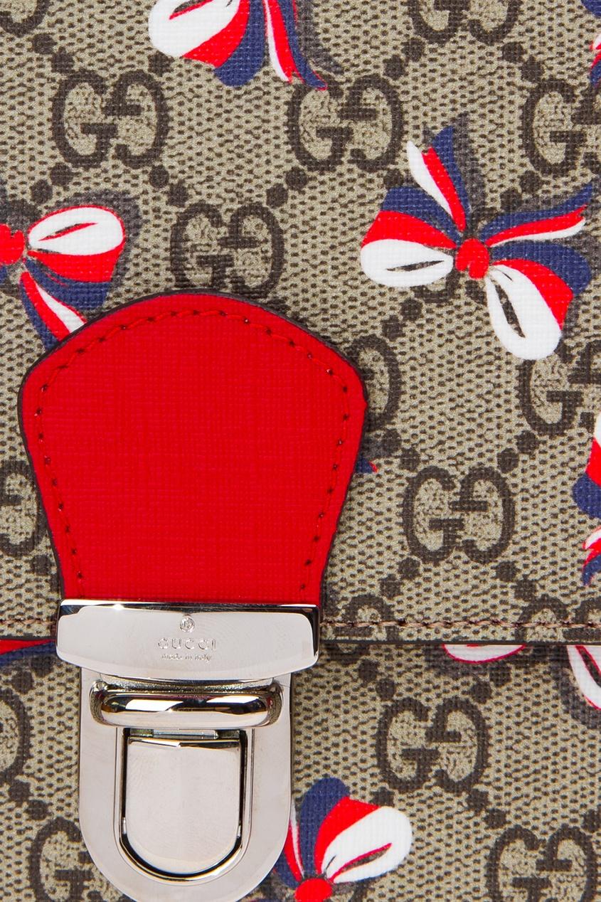 Gucci Children Портфель с принтом gucci children куртка с принтом