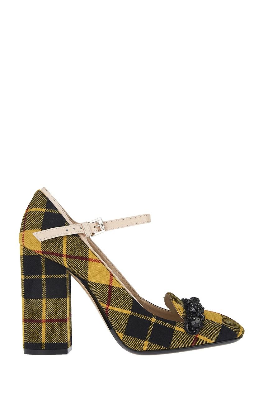 Текстильные туфли Tino 100