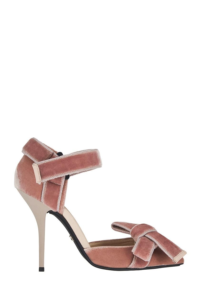 Бархатные туфли Vito 100