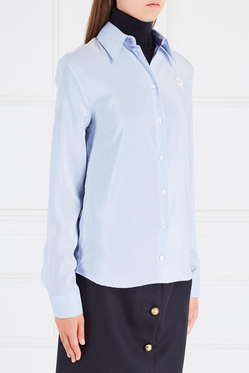Rochas Шелковая рубашка rochas пальто из шерсти и шелка