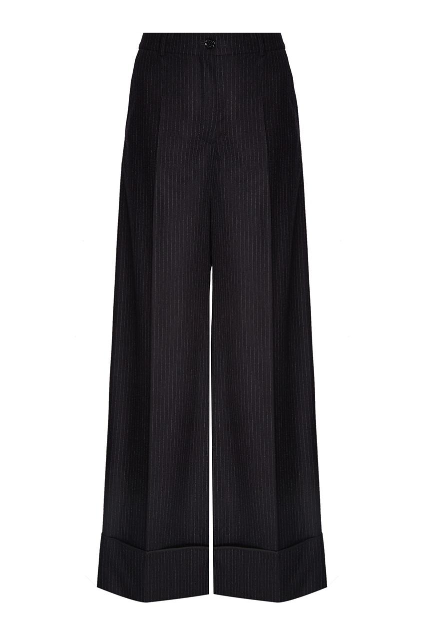 Nina Ricci Шерстяные брюки nina ricci льняные брюки в клетку