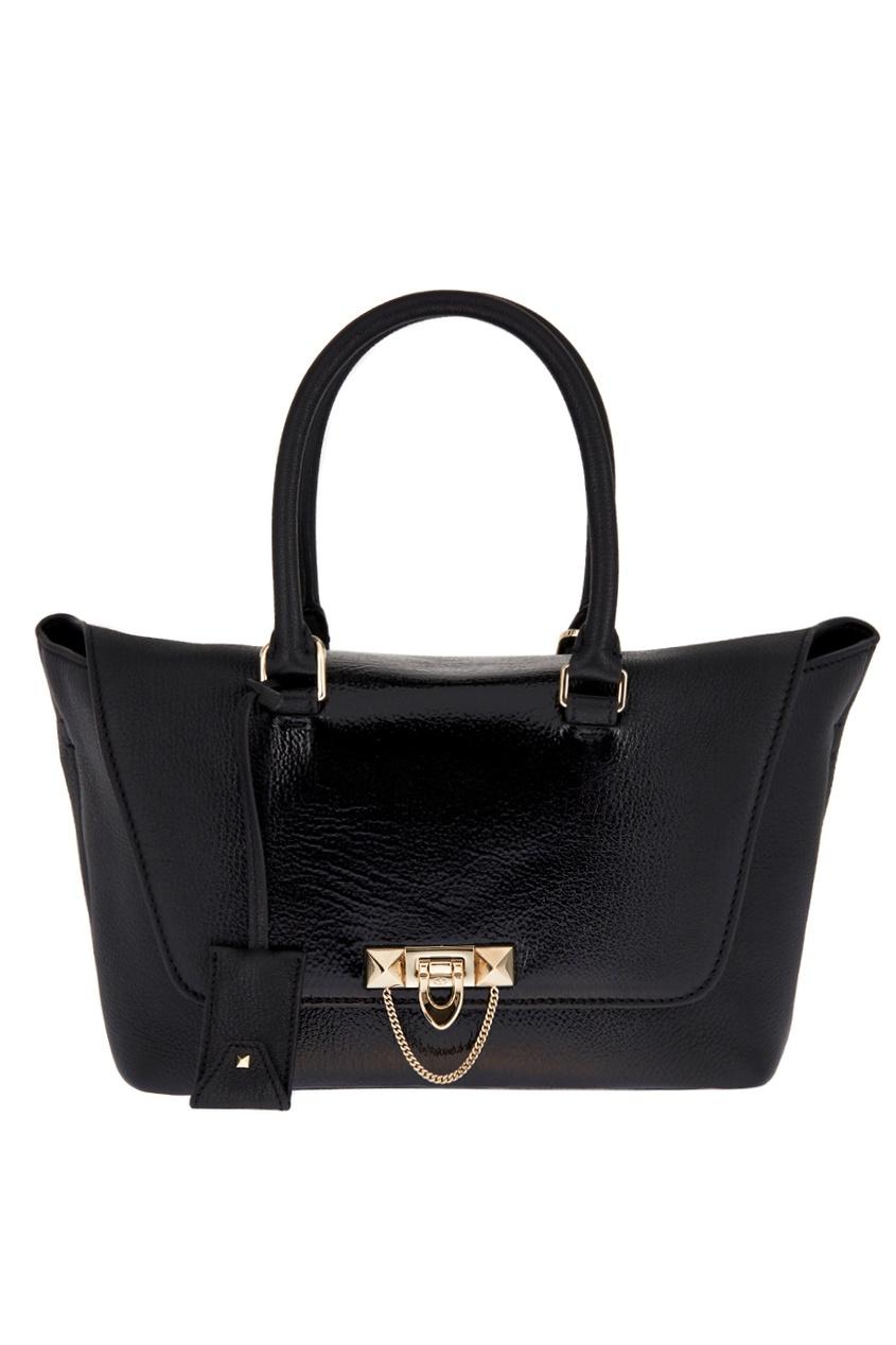 Кожаная сумка Demilune