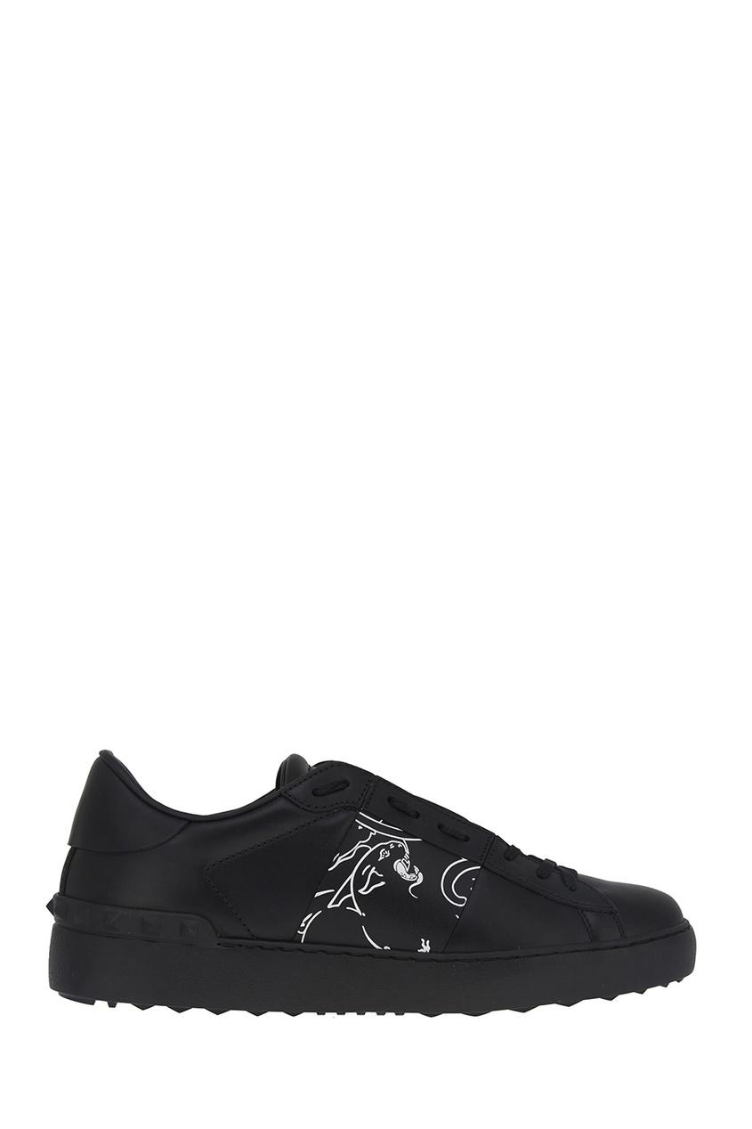 все цены на Valentino Кожаные кроссовки