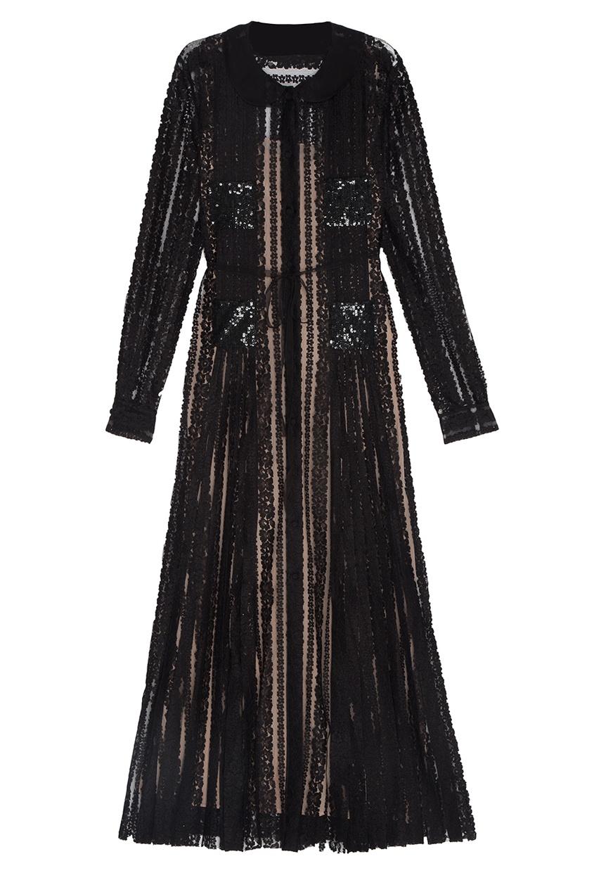 все цены на Valentino Кружевное платье