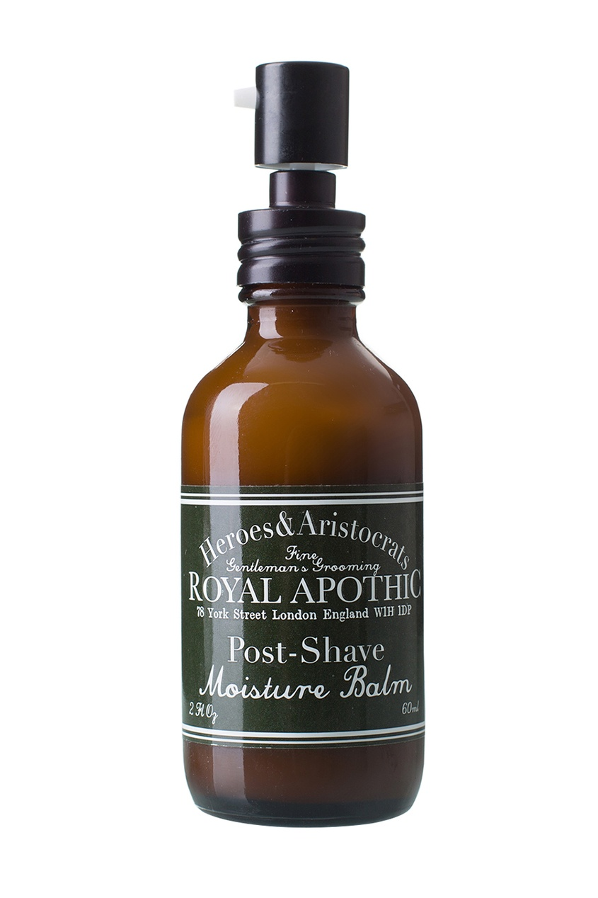 Royal Apothic Увлажняющий бальзам после бритья, 60 мл royal apothic бальзам для губ инжир 9 г