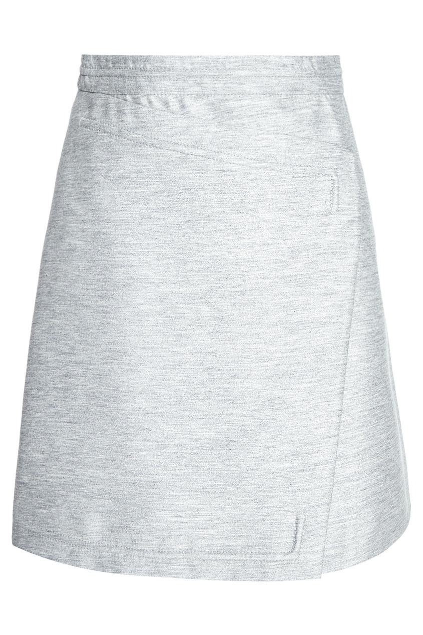 Carven Юбка с запахом асимметричная юбка с запахом thomas wylde асимметричная юбка с запахом