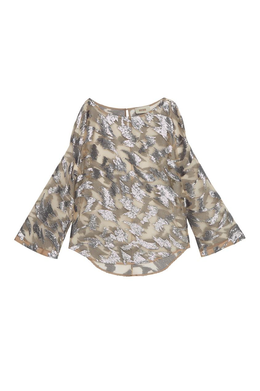 Biryukov Блузка с пайетками блузки mango блузка tucano8