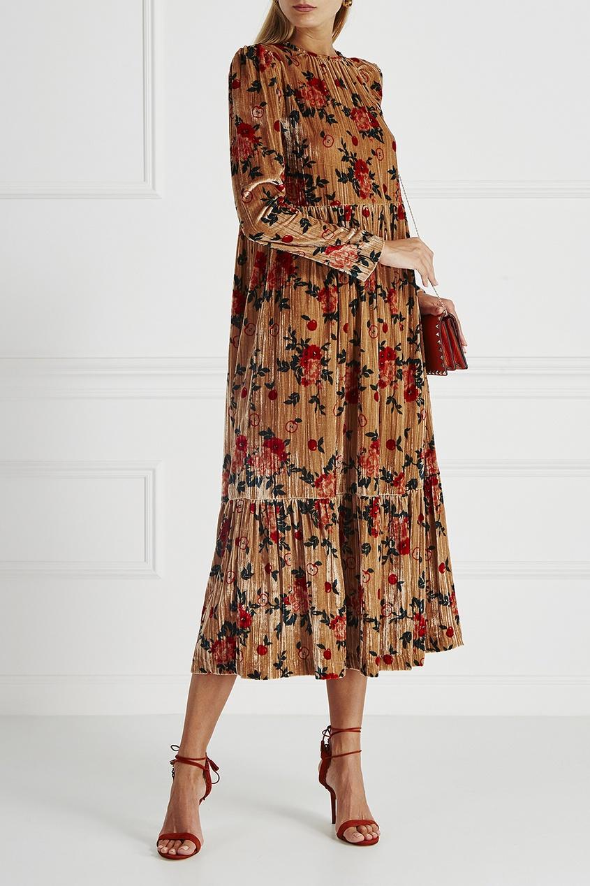 Vivetta Бархатное платье Santiago