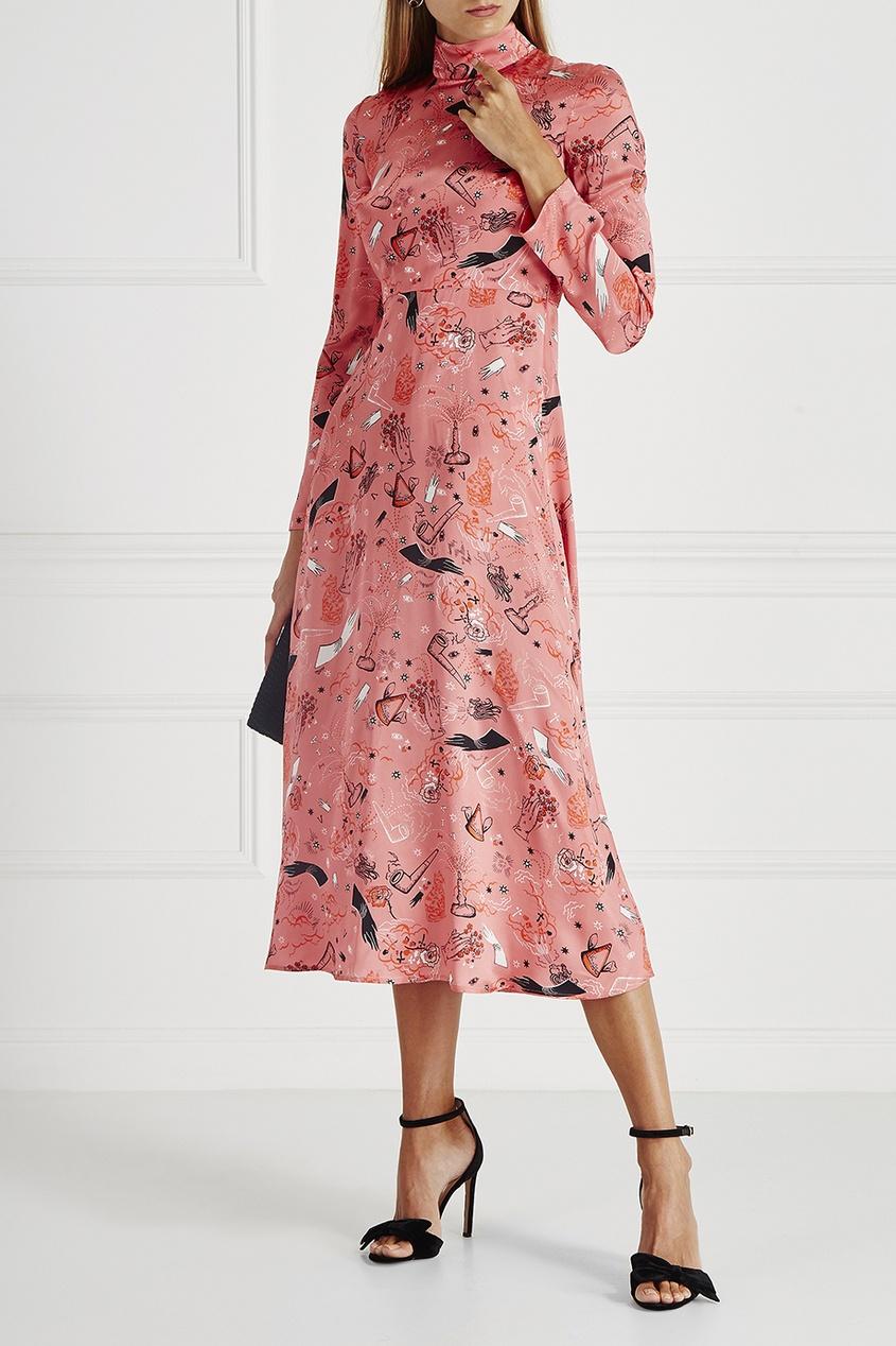 Шелковое платье Providence