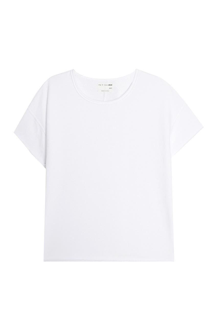 Купить со скидкой Хлопковая футболка