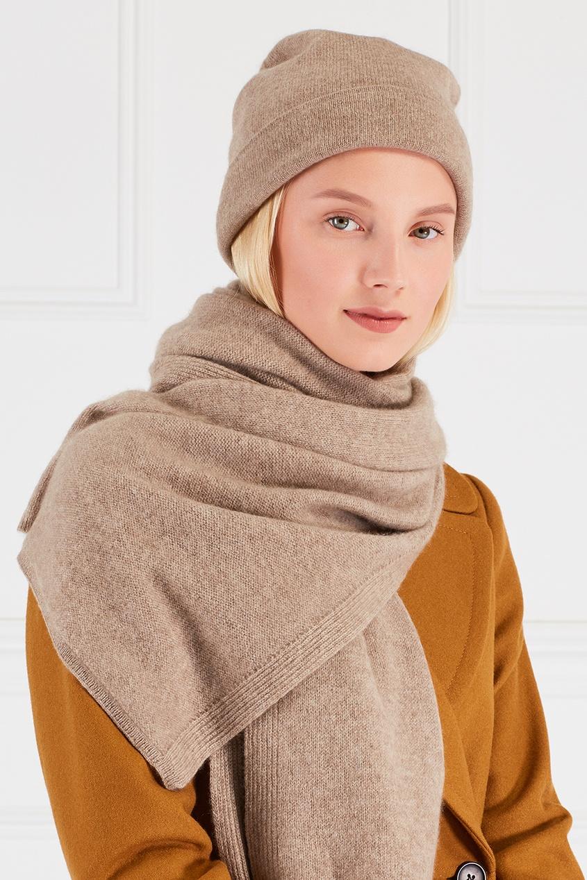 Tegin Кашемировый шарф tegin юбка с люрексом