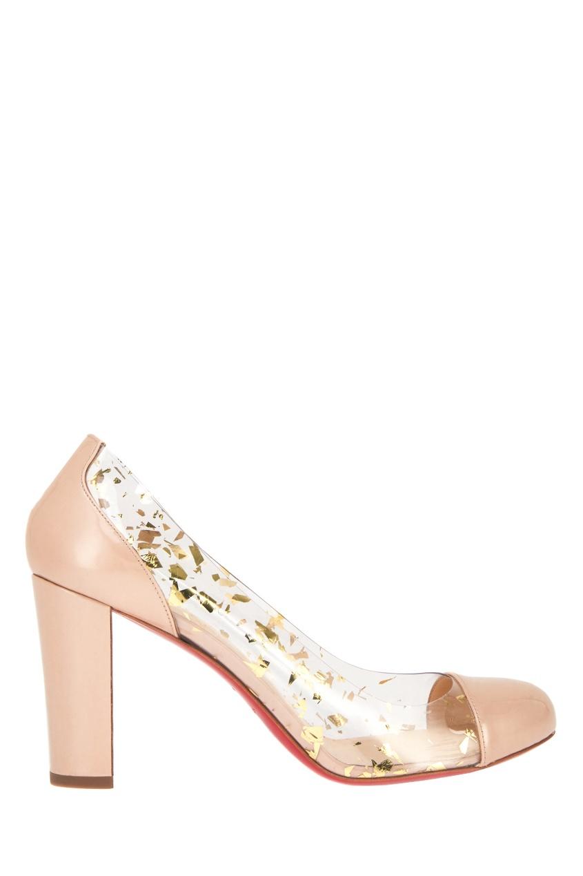 Комбинированные туфли Un Bout Rond 85