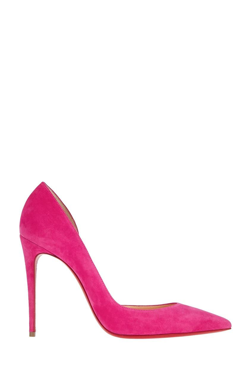 Замшевые туфли Iriza 100
