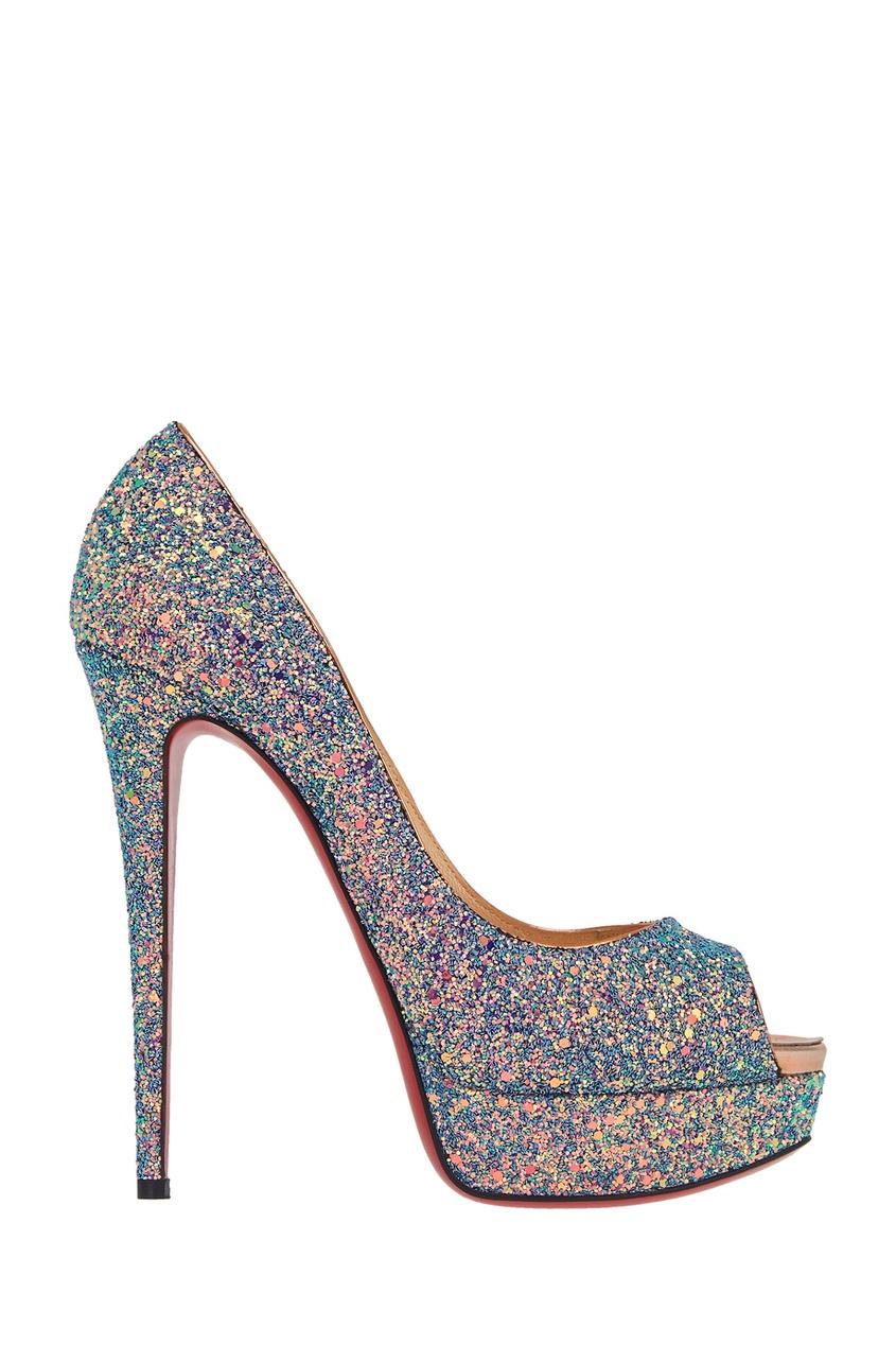 Туфли с глиттером Lady Peep 150