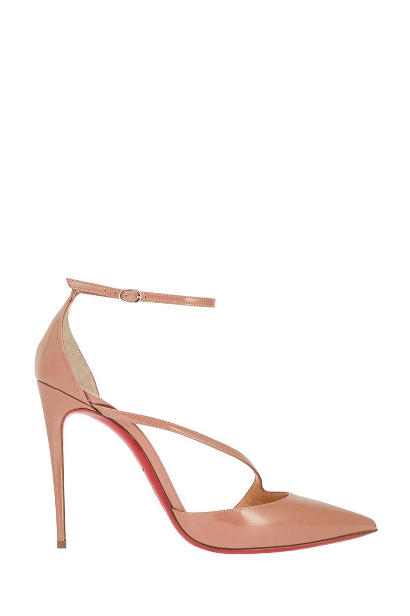 Кожаные туфли Fliketta 100 от Christian Louboutin
