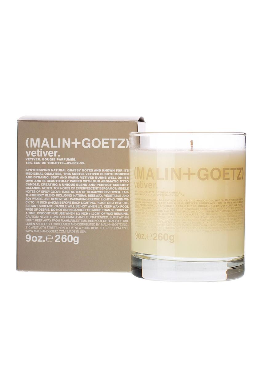 Malin+Goetz Свеча ароматизированная Темный Ром, 260 g malin goetz скраб для тела peppermint body scrub мята 220ml