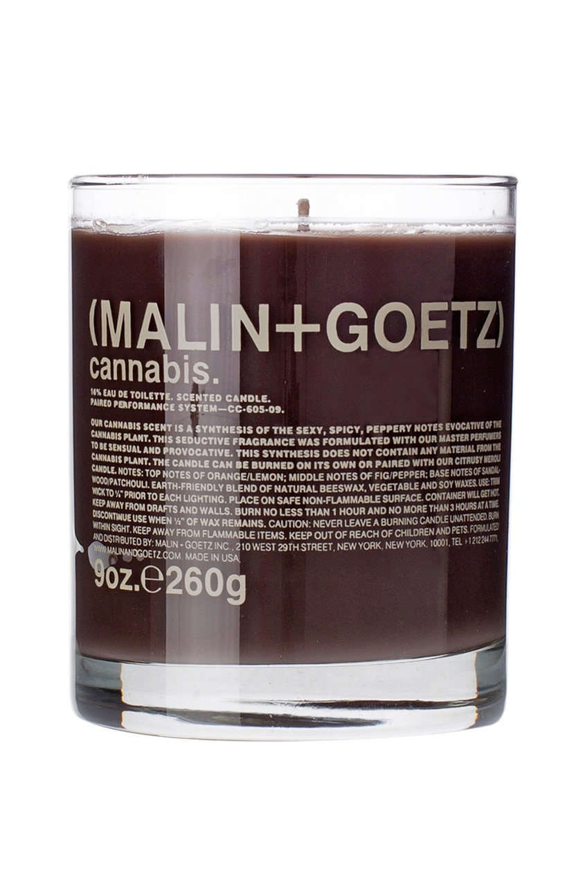 Malin+Goetz Свеча ароматизированная Каннабис, 260 g