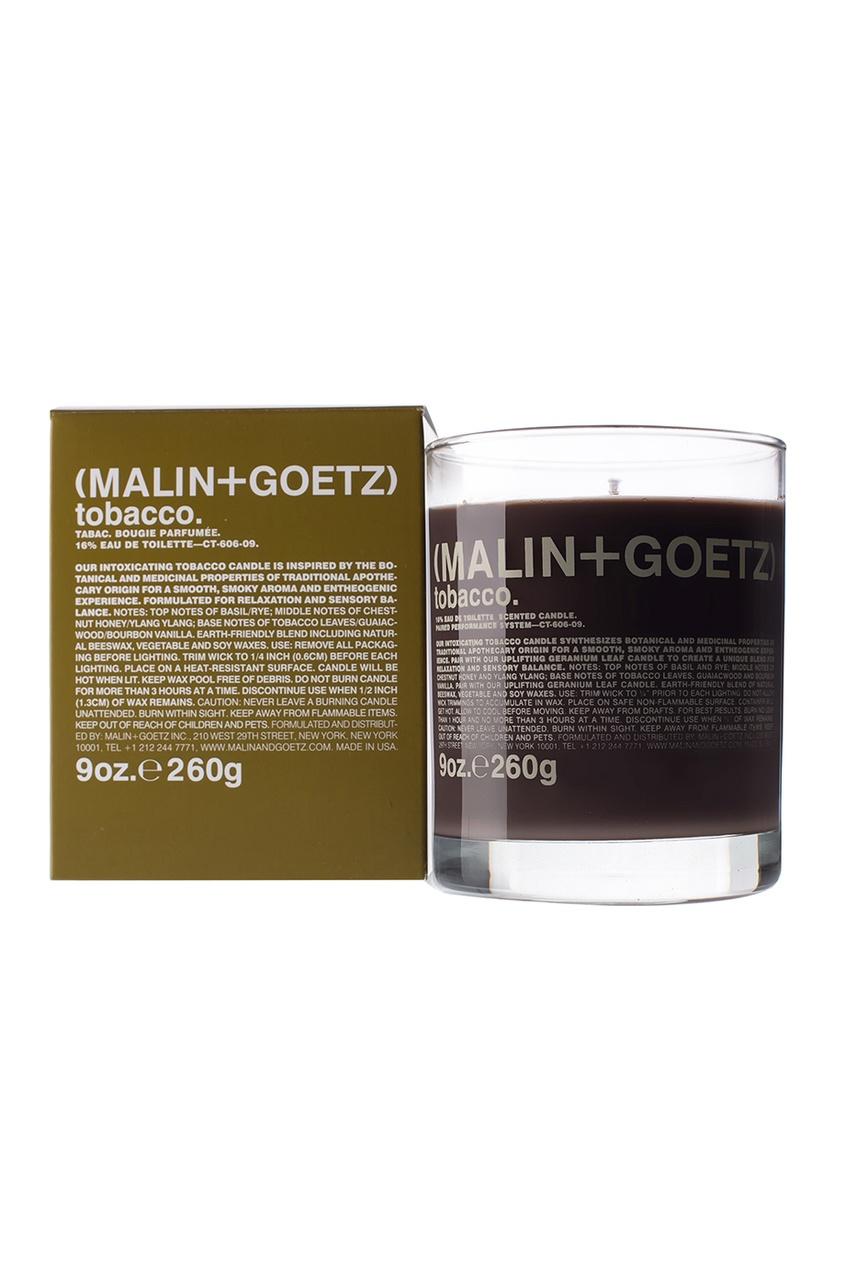 Malin+Goetz Свеча ароматизированная Табак, 260 g продукты напитки табак