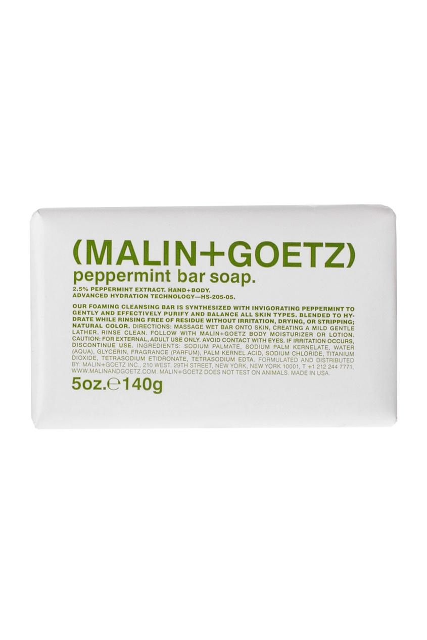 "Malin+Goetz Мыло туалетное Мята 140 гр malin goetz гель мыло для рук и тела cannabis ""каннабис"" 250ml"