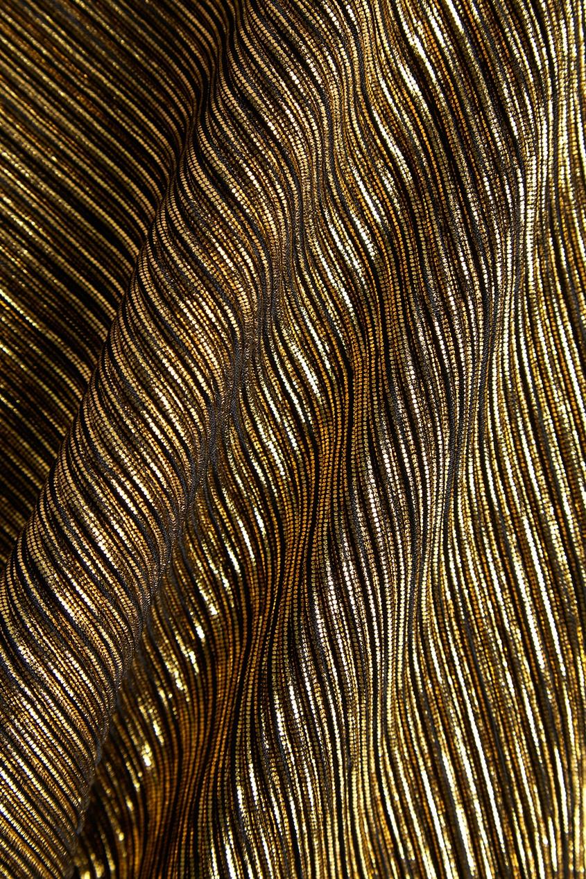 Cyrille Gassiline CG Плиссированное платье платье плиссированное с рисунком