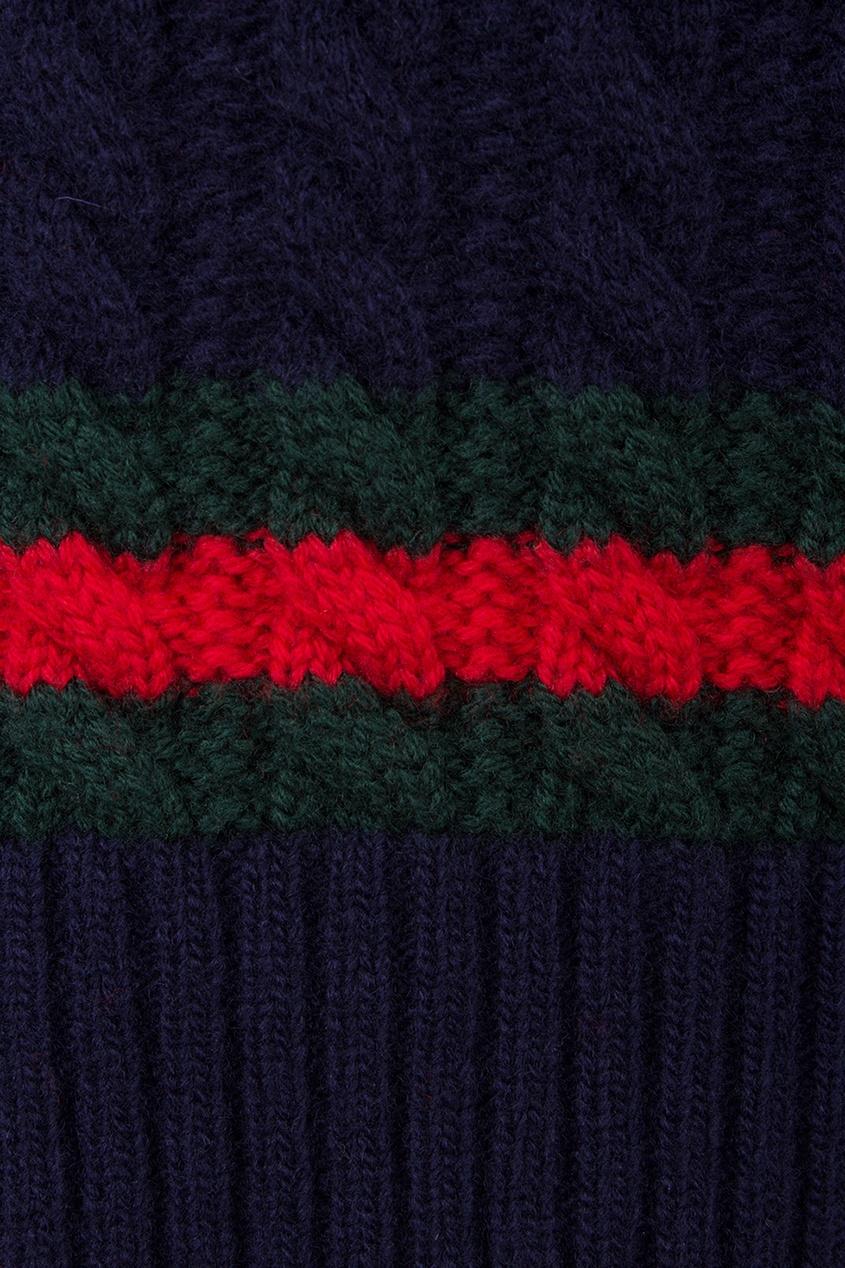 Gucci Children Шерстяной пуловер