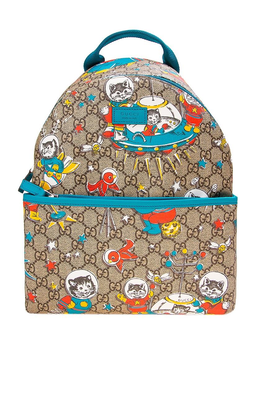 Gucci Children Рюкзак с принтом gucci children куртка с принтом