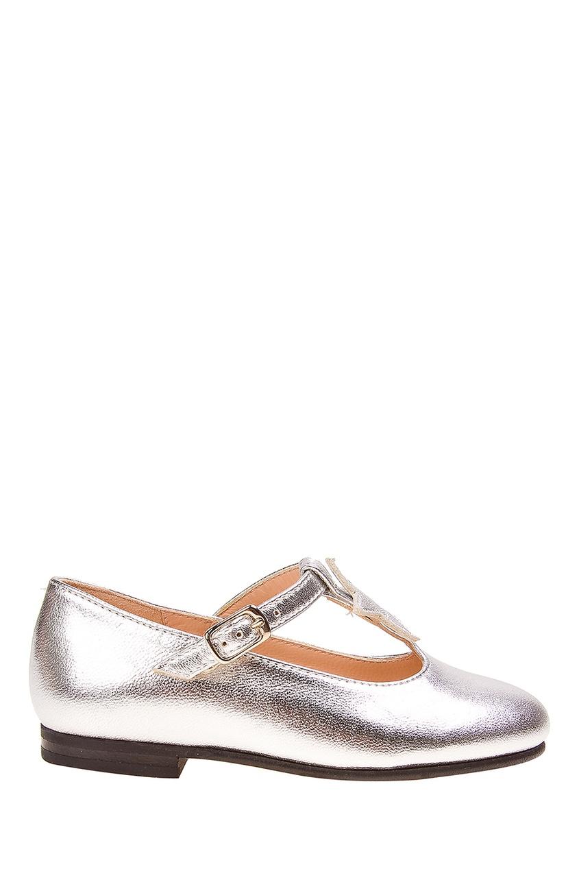 Кожаные туфли от Il Gufo