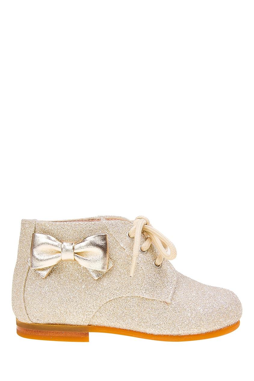 Ботинки с глиттером