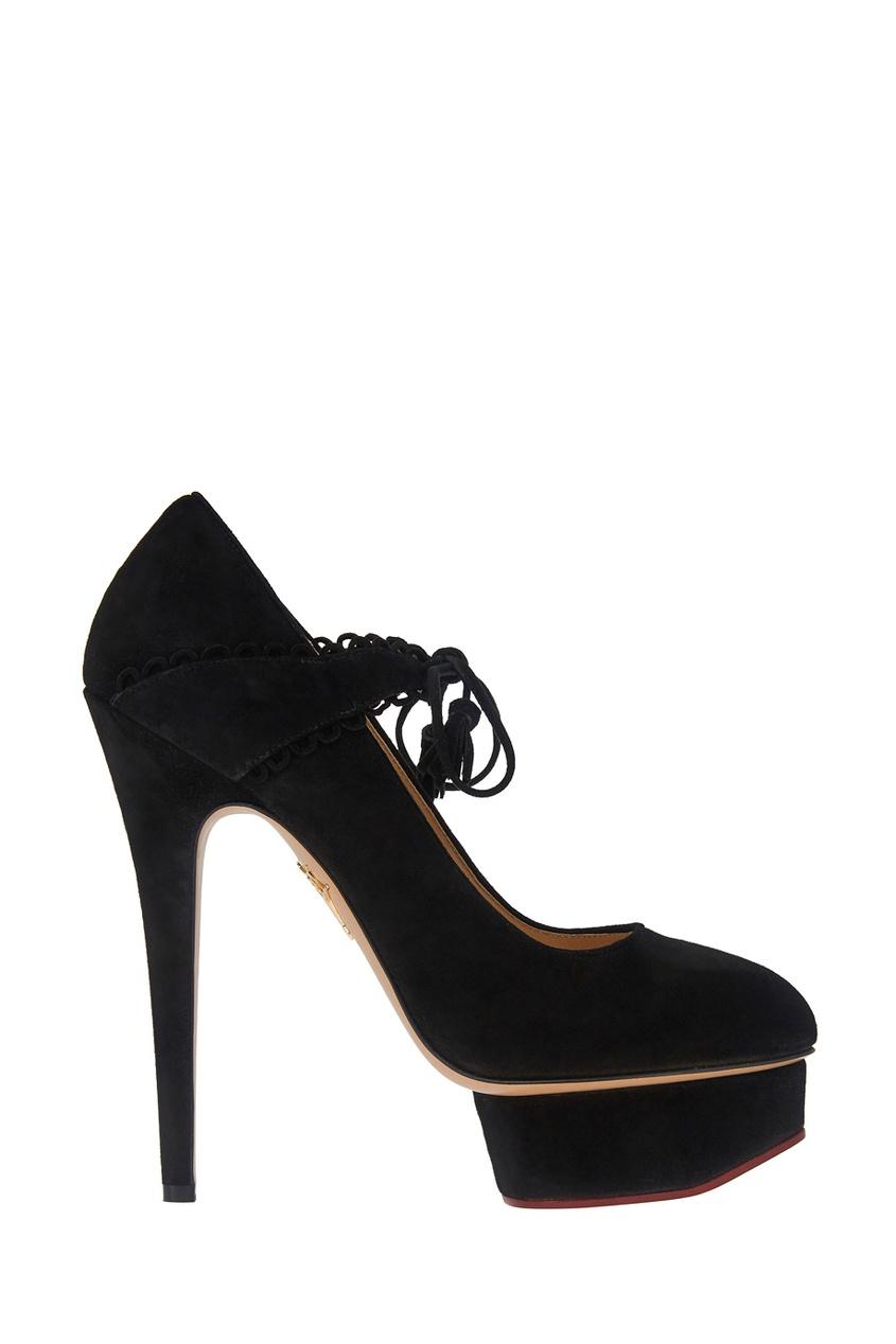 Замшевые туфли Ophelia