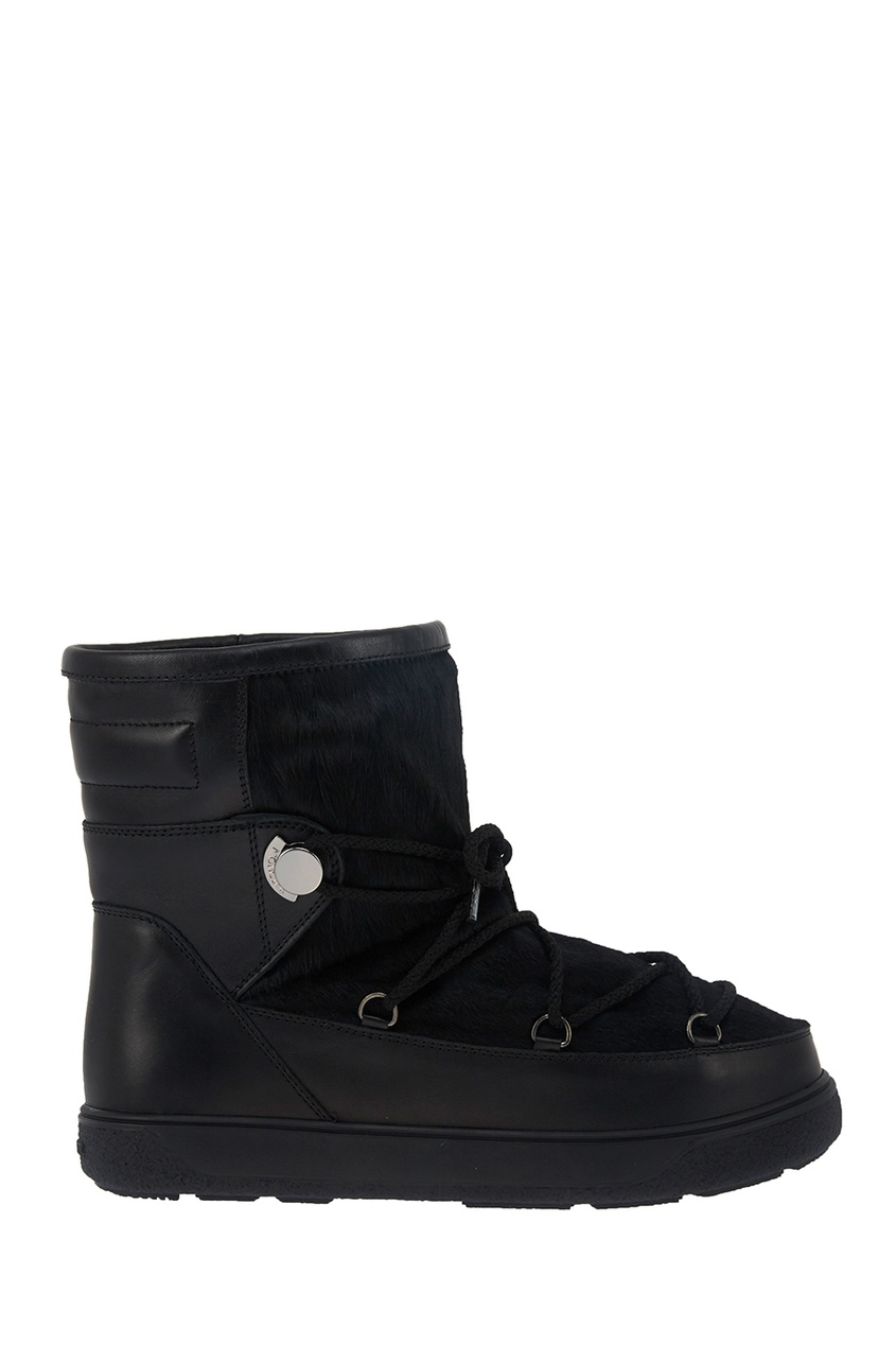 Moncler Кожаные ботинки New Fanny