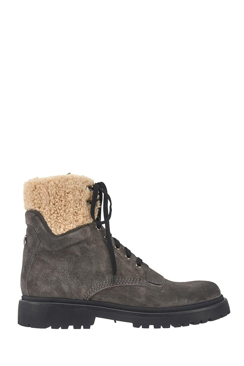 Moncler Замшевые ботинки Patty